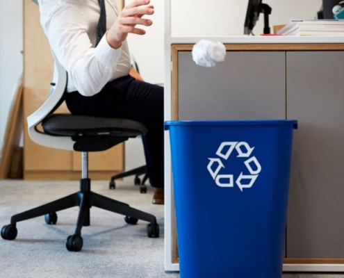 Reciclar en la oficina