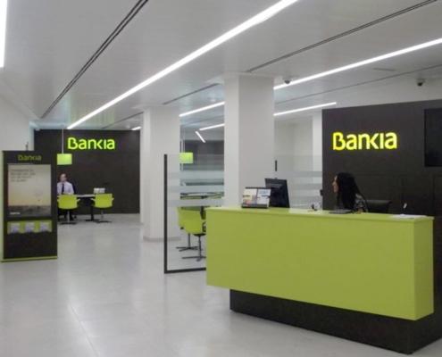 Reforma Bankia en Madrid
